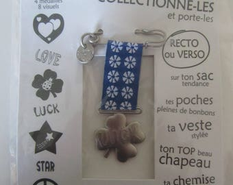 Medal of happiness - clover - collect them and wearing them