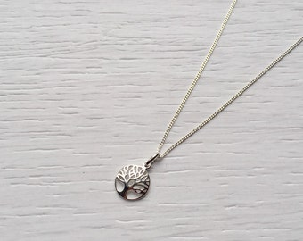 Silver Tree of Life Necklace (Sterling Silver)