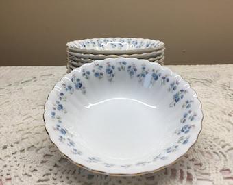 Royal Albert Memory Lane Fruit Bowl, Dessert Bowl, 8 Available