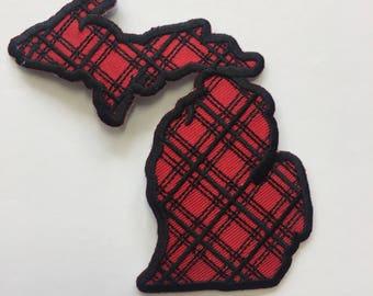 Michigan Flannel Patch