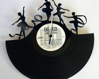 Vinyl Record Clock (Eurythmics)