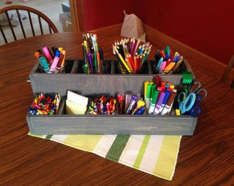 Crayon Caddy for Kids