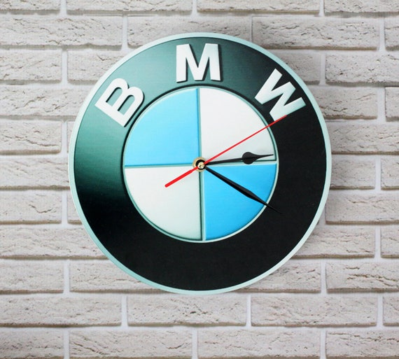 Wall clock - BMW Clock - Photo clock - Poster - Personalized Wall Clock