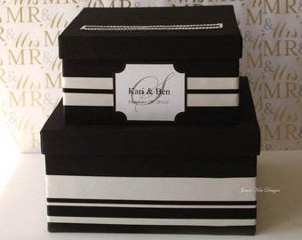 Wedding Card Box Gift Card Box  Money Holder - Choose your own colors