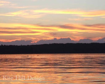 Warmth of a Sunset, Maine Home Decor,Maine Art,Maine Wall Art,Maine Photo,Maine Print,Maine Gifts,Maine Photograph,Maine Poster,Maine Made