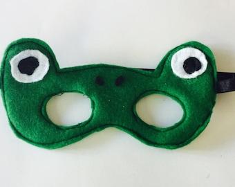 Felt Frog Mask