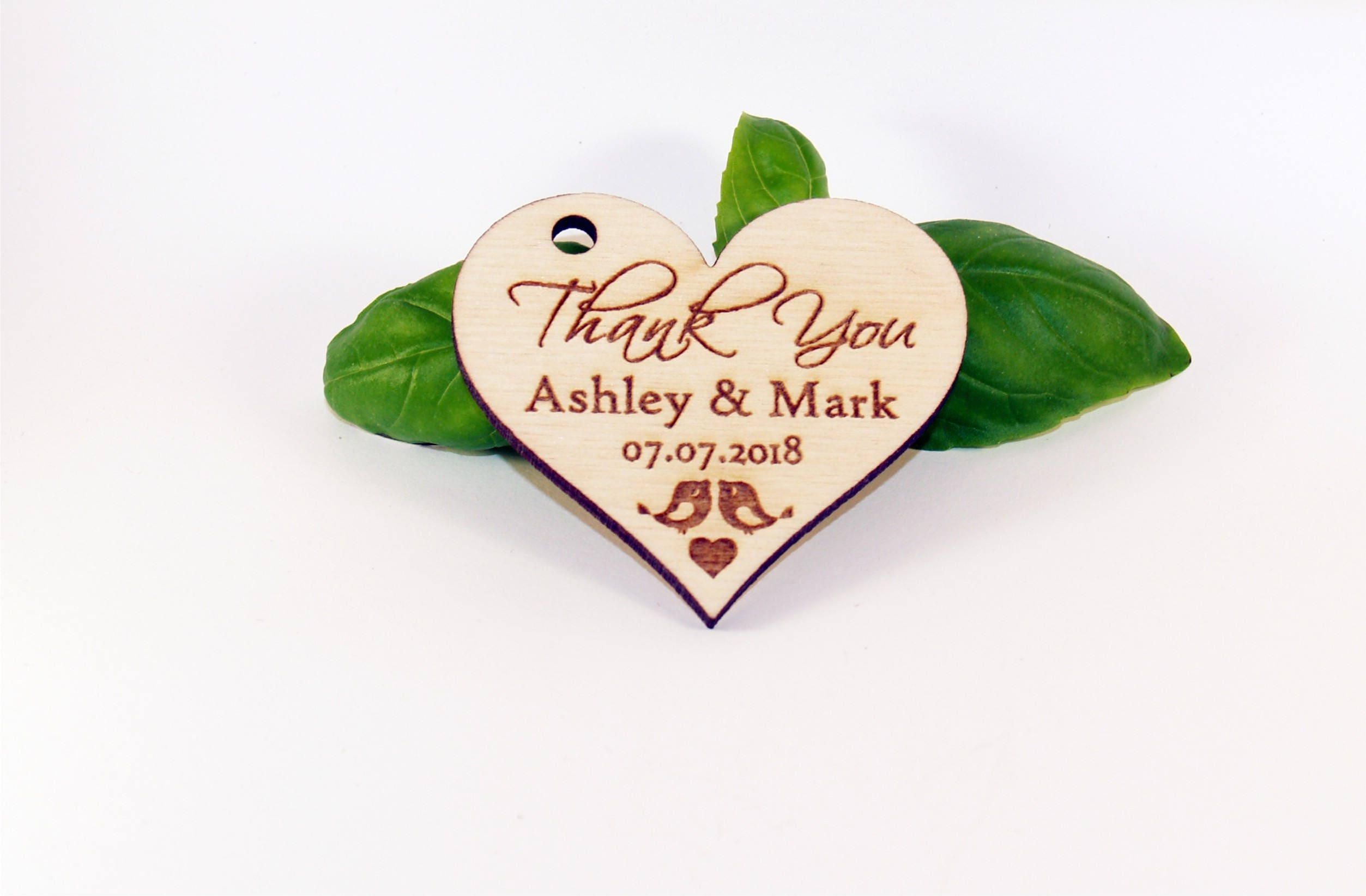 Wedding favor tags, Wood favor tags, Wedding favors, Wood wedding ...
