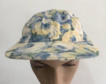 Vintage Gotkeys Floral Motive Cap Hat