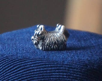Stunning Authentic Trollbeads Sterling Silver Scottish Terrier DOG CHARM 925 S LAA;A932