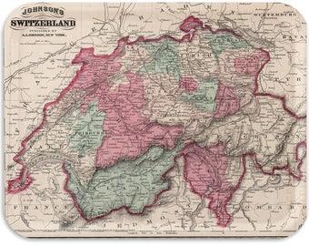 "Switzerland 1870 17""x13"""