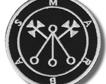 Sigil of Marbas - embroidered patch 8x8 cm