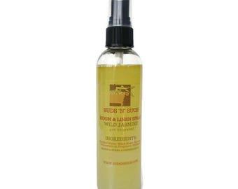 Wild Jasmine Room and Linen Spray - Bathroom Deodorizer - Odor Eliminator - Car Spray - Phathalate Free Fragrance - Cruelty Free