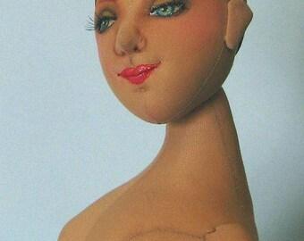 LA FEMME (the Woman) cloth doll PDF pattern