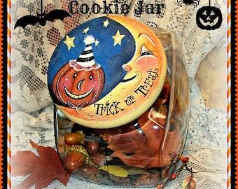 Apple Tree Cottage Original Design E Pattern  - Halloween Cookie Jar