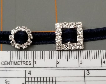 DIY rhinestone Buckles for making doll belts, shoes, bags, purses, etc