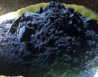 Indigo - Indigofera Tinctoria  - Natural Dyes - Indigo Powder - 1 ounce package