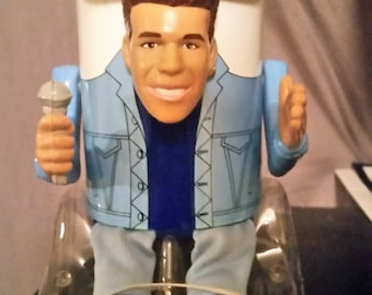 RARE 1990 New Kids on the Block DONNIE WAHLBERG Puppet Kooler