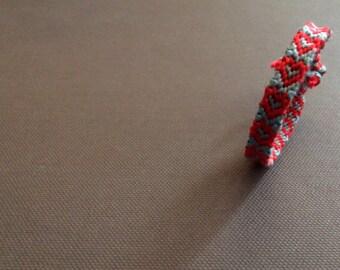 Personalized Heart Friendship Bracelet | Made To Order | Handmade Friendship Bracelet | Custom Bracelet | Bracelet Gift for Friends/Family