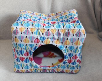 Custom made to order small animal bed / cube (hedgehog, rat, degu)