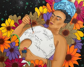 I am my only Muse (Original Frida Print)