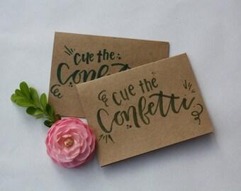 Hand Lettered Celebratory Cards