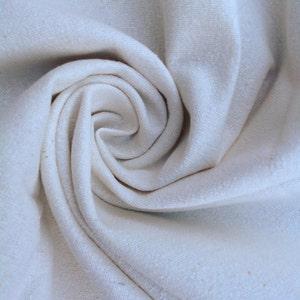 Silk Noil, Undyed Silk Bourette, Natural Textured Silk, Silk Fabric, Neutral Fabric, Undyed Fabric, Silk Washcloth Fabric, Raw Silk Fabric