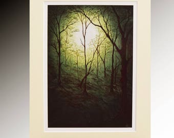 The Weald - Limited Edition Giclee Art Print of a Magical Forest