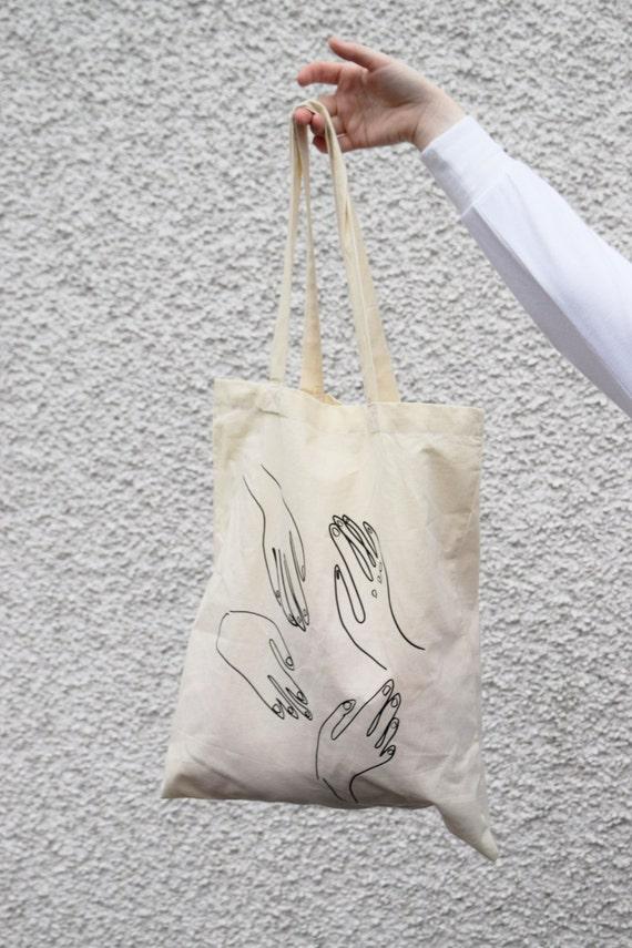 Paloma Cotton Canvas Tote Bag