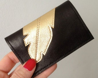 leather cards holder