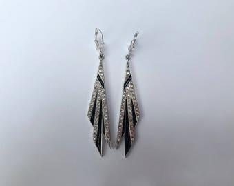 Deco Starburst Earrings