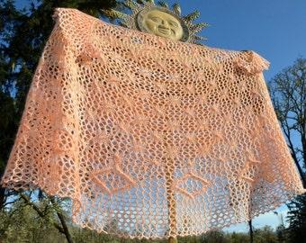 Knit Shawl or Scarf Pattern ~ Kalypso Shawl
