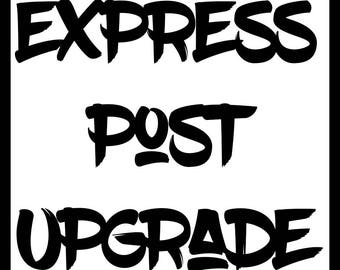 Express Postage Add On Upgrade