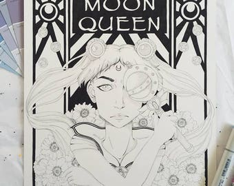 Sailor Moon Original Illustration