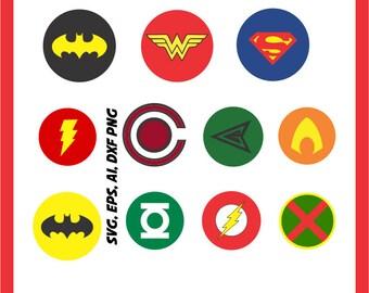 Green lantern svg | Etsy Green Arrow Superhero Logo