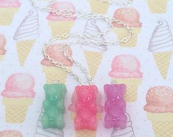 Gummy Bear Necklace (choose your favorite)