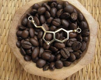 Necklace - Serotonin Molecule