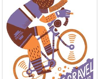 Keystone Gravel poster, HIM only