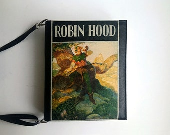 Robin Hood Book Bag Robin Hood Book Purse