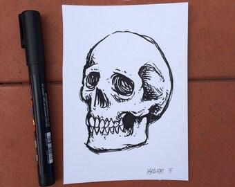 Inktober 2015 Day #30 - (Original drawing)