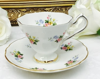 Royal Stafford teacup and saucer.