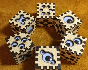 The Argus Die, the Six-Sided, Gaming Table Surveillance Device (or the PhiloLabs Weeping Angel Defence System)