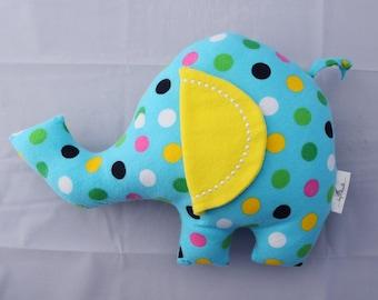 Original Design Stuffed Elephant/ Buddy to Animal ABC Book