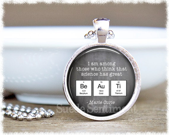 Science teacher gift science jewelry periodic table urtaz Image collections