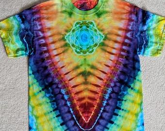 Medium Tie Dye Mandala V T-Shirt