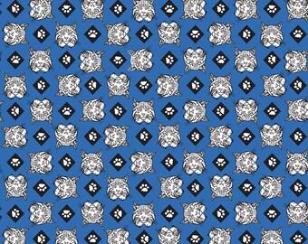 SALE Cub Scouts Bobcat Blue - Riley Blake Designs - Boy Scouts Paws - Quilting Cotton Fabric - choose your cut