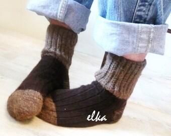 Men's knitted socks / Носки мужские вязаные