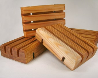 One Cedar Handcrafted Soap Saver / Soap Deck