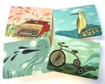 notecards - blank NOTECARD SET, handmade greeting cards, blank cards, handmade card set, stationery set of note cards, blank greeting cards