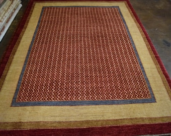 Fine Quality hand knotted gabbah Oriental rug