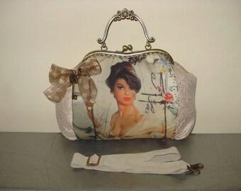 Pin-Up girl bag